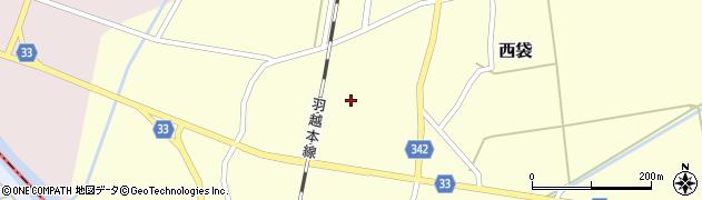 山形県東田川郡庄内町西袋村立100周辺の地図