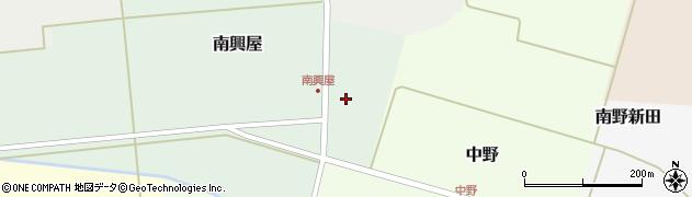 山形県東田川郡庄内町南興屋前通割11周辺の地図