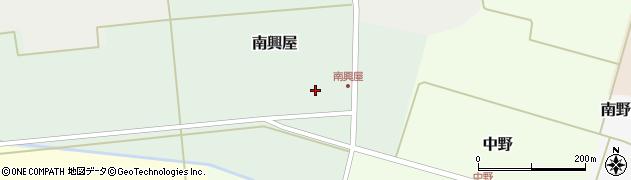 山形県東田川郡庄内町南興屋前通割50周辺の地図