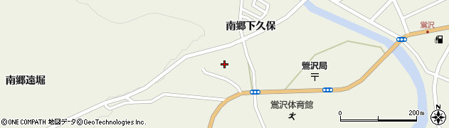 宮城県栗原市鶯沢南郷遠堀周辺の地図