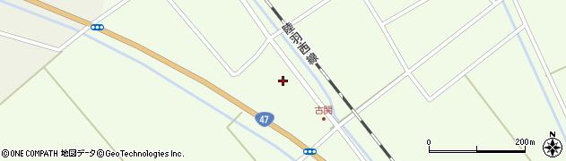山形県東田川郡庄内町古関土手の下16周辺の地図