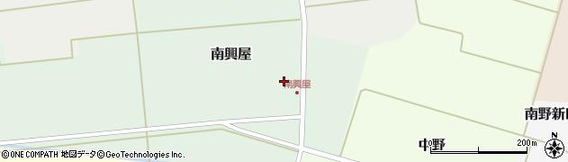 山形県東田川郡庄内町南興屋前通割35周辺の地図