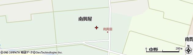 山形県東田川郡庄内町南興屋前通割51周辺の地図