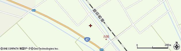山形県東田川郡庄内町古関土手の下20周辺の地図