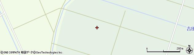 山形県東田川郡庄内町狩川三段割周辺の地図