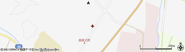 宮城県栗原市金成上町周辺の地図