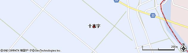 山形県鶴岡市長沼(十文字)周辺の地図