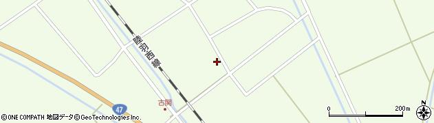 山形県東田川郡庄内町古関古館203周辺の地図