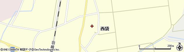 山形県東田川郡庄内町西袋村立35周辺の地図