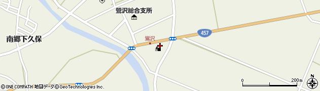 宮城県栗原市鶯沢南郷新橋沖周辺の地図
