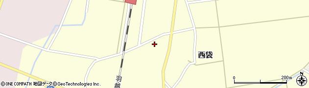 山形県東田川郡庄内町西袋村立47周辺の地図