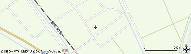 山形県東田川郡庄内町古関古館6周辺の地図