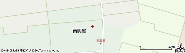 山形県東田川郡庄内町南興屋谷地田周辺の地図