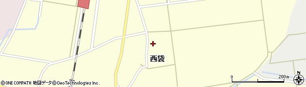 山形県東田川郡庄内町西袋村立1周辺の地図