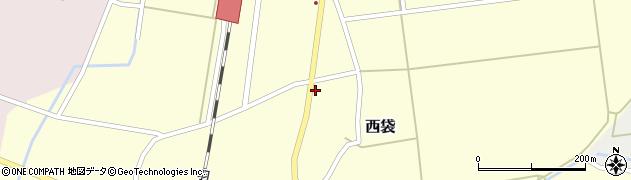 山形県東田川郡庄内町西袋村立42周辺の地図