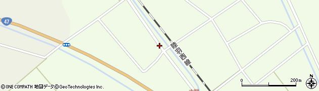 山形県東田川郡庄内町古関土手の下75周辺の地図
