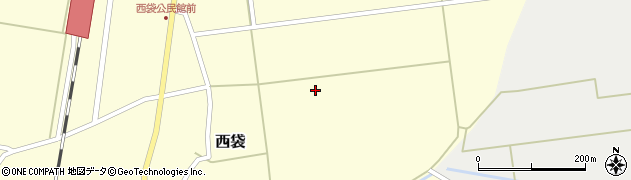山形県東田川郡庄内町西袋大東周辺の地図