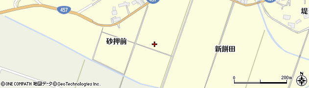 宮城県栗原市栗駒稲屋敷新餅田周辺の地図