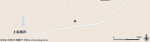 宮城県栗原市栗駒猿飛来上長楽沢周辺の地図