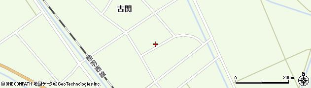 山形県東田川郡庄内町古関古館44周辺の地図