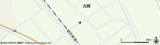 山形県東田川郡庄内町古関古館93周辺の地図