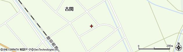 山形県東田川郡庄内町古関古館37周辺の地図