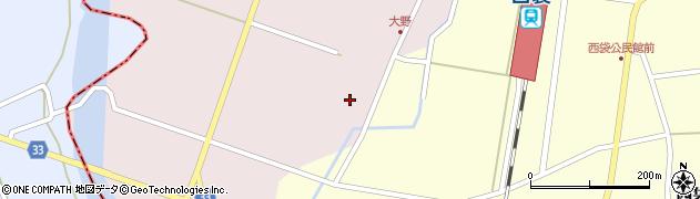 山形県東田川郡庄内町大野太農11周辺の地図