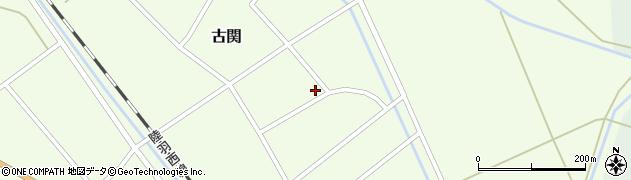 山形県東田川郡庄内町古関古館34周辺の地図