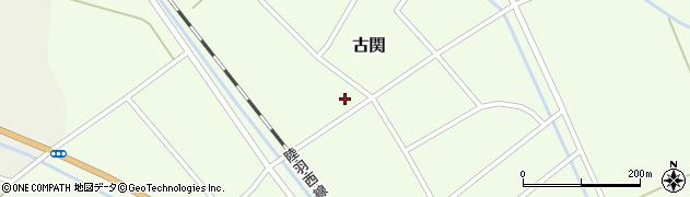 山形県東田川郡庄内町古関古館95周辺の地図