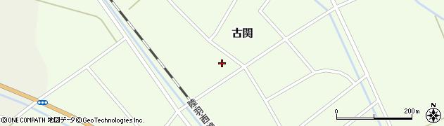 山形県東田川郡庄内町古関古館92周辺の地図