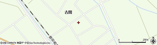 山形県東田川郡庄内町古関古館43周辺の地図