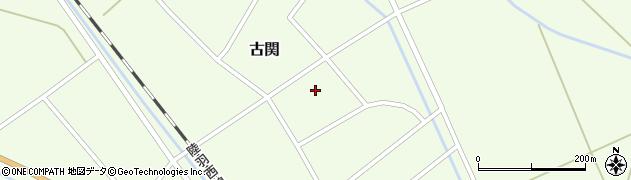 山形県東田川郡庄内町古関古館40周辺の地図
