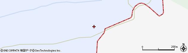 山形県最上郡鮭川村川口山梨沢山周辺の地図