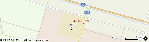 山形県東田川郡庄内町主殿新田赤渕周辺の地図