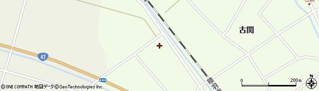 山形県東田川郡庄内町古関土手の下58周辺の地図