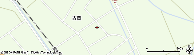 山形県東田川郡庄内町古関古館36周辺の地図