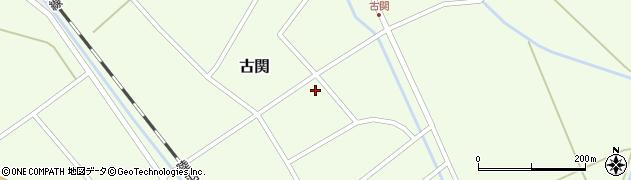 山形県東田川郡庄内町古関古館41周辺の地図