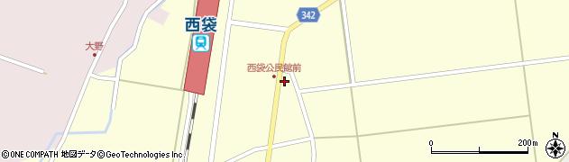 山形県東田川郡庄内町西袋駅前48周辺の地図