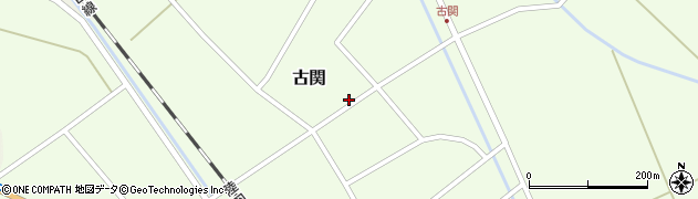 山形県東田川郡庄内町古関古館107周辺の地図