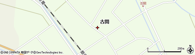 山形県東田川郡庄内町古関古館173周辺の地図
