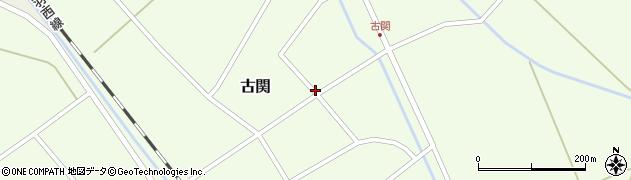 山形県東田川郡庄内町古関古館114周辺の地図