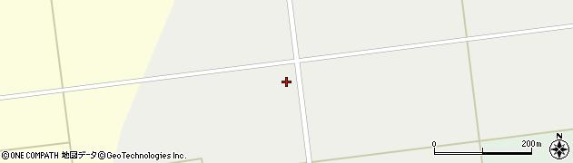 山形県東田川郡庄内町廻館下大坪周辺の地図