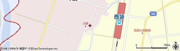 山形県東田川郡庄内町大野太農22周辺の地図
