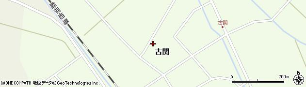 山形県東田川郡庄内町古関古館169周辺の地図