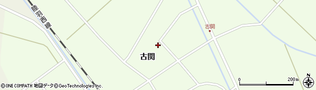 山形県東田川郡庄内町古関古館165周辺の地図