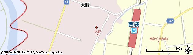山形県東田川郡庄内町大野太農24周辺の地図