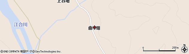 宮城県大崎市鳴子温泉鬼首(曲り畑)周辺の地図
