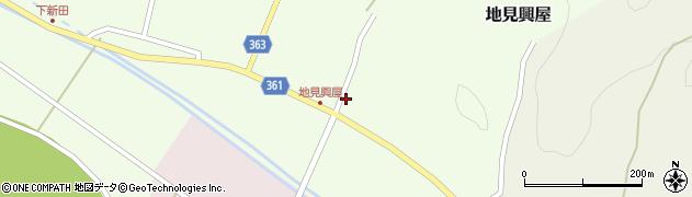 山形県酒田市地見興屋村東32周辺の地図