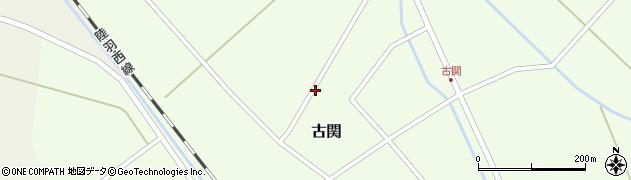 山形県東田川郡庄内町古関古館161周辺の地図