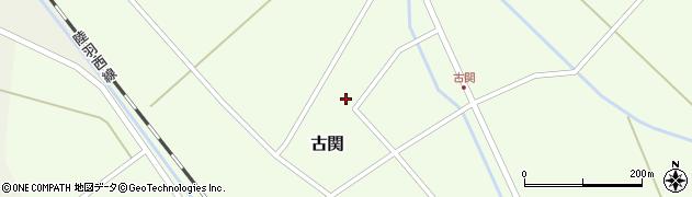 山形県東田川郡庄内町古関古館159周辺の地図